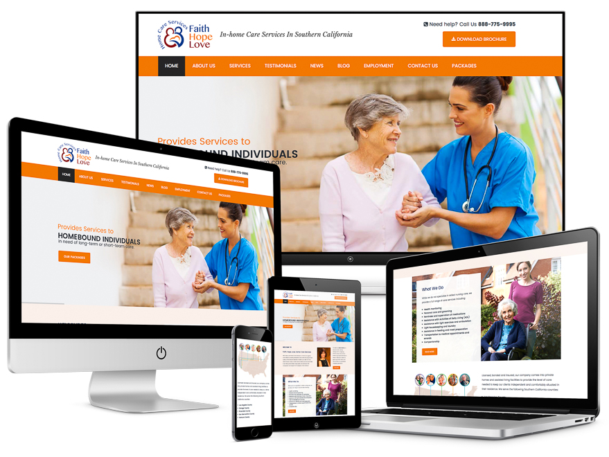 Web Design Portfolio in Palm Desert and the Palm Springs areas.